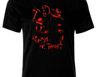 Inspired By The Walking Dead Dixon In Daryl We Trust T-Shirt