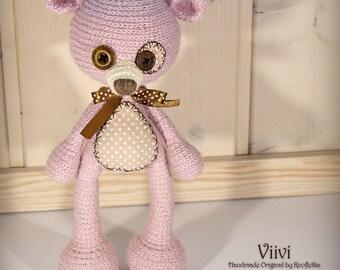 Viivi - Original Handmade Teddy/Bear/Toy/Collectable/Gift/Charm
