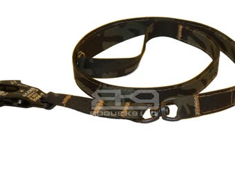 FROG 8ft Mil-Spec Swivel Dog Leash, handmade in USA by Rogue K9