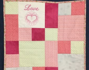 Sweetheart Wall Hanging or Table Topper