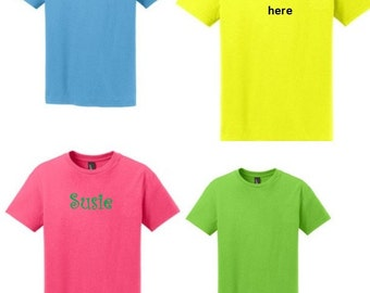 Child/ Toddler/ Youth Short Sleeve Tee -