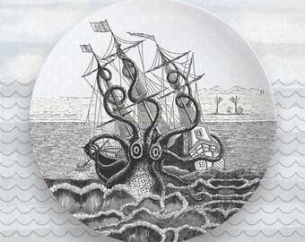 Octopus Shipwreck plate