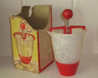 Vintage Popeil Donut Maker - Made in USA  - Comes with Box with Recipes