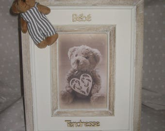 "Free shipping! ""Baby love"" photo frame"