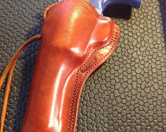 Custom LH Belt Holster Fits Colt 5.5 bbl