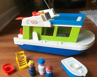 Fisher Price Play Family Boat Lot
