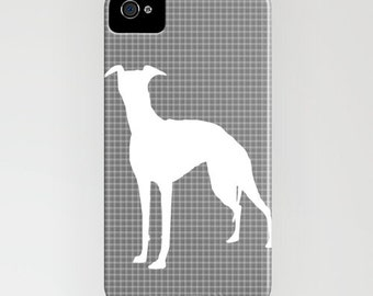 Whippet Dog on Phone Case - whippet, iPhone 6S, iPhone 6 Plus, Gifts for Pet Lovers, iPhone 8
