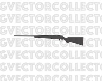 Gun svg silhouette Guns vector files collection digital