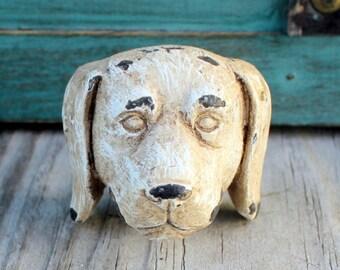 Dog Drawer Pull Knob Cabinet Knob Dresser Knob Rustic