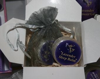 Lavender Sleep Aid in a Balm    2 X 10gm Gift Pack.