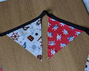 Pirate themed bunting