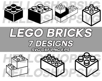 lego svg, lego brick svg, silhouette, lego toy svg, clipart, decal, stencil, vinyl, cut file, eps, dxf, png, printable, image, cricut file