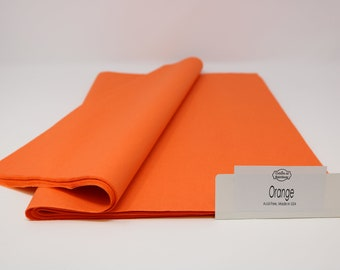 "Orange Tissue Paper - 15"" x 20"" - 96 Sheets"