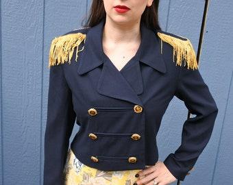 Cavalry Jacket, Crop Jacket, Steampunk Uniform, Civil War Style