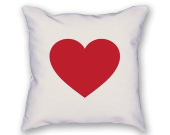 Heart Pillow – Valentine's Day Pillow