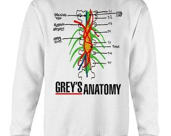 Derek shepherd tumor case sweatshirt, greys anatomy sweatshirt, grey's anatomy, greys anatomy gifts, mcdreamy, grey's anatomy shirt