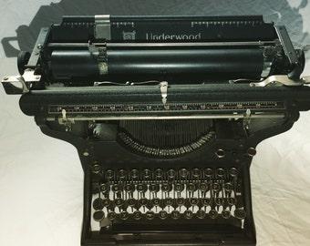 Working Underwood No3 Typewriter in Excellent working condition from 1914
