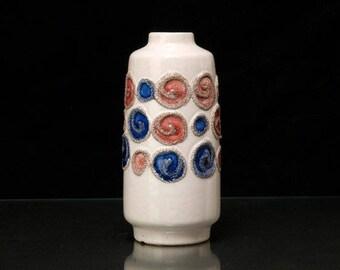 VEB HALDENSLEBEN Fat Lava Vase Form 3045 C Vintage from East Germany GDR