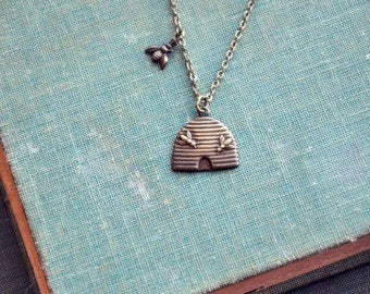 the beekeeper necklace.
