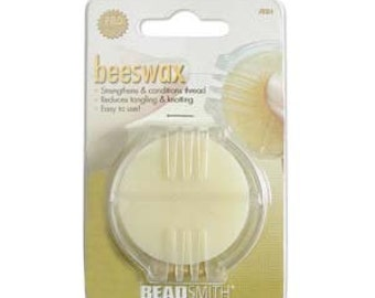 Tools & Supplies-Beeswax-Beading Thread Conditioner and Protectant-Quantity 1