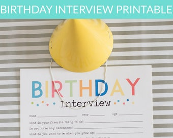 Adorable Birthday Bargain Bundle & Printable Interview