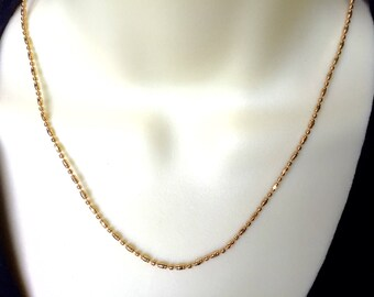 Gold Chain Necklace, Everyday Necklace, Dainty Gold Chain, Layering Necklace,Gift for Her