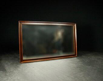 Mid century modern large wall mirror