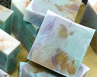Serenity Soap// Handcrafted Soap//Homemade Soap//Hand Poured Soap//Melt and Pour Soap//Aromatherapy//Gift