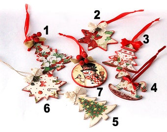 Christmas tree toy Christmas tree decor Christmas decor Christmas toy Rustic christmas toy Wooden christmas decor Christmas set Toys set