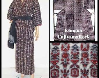 Kimono, Kimono Dressing Gown, Japanese Kimono, Kimono Robe, Kimono Dress, Kimono Jacket, Kimono Cardigan, Boho Kimono, Japanese Clothing,