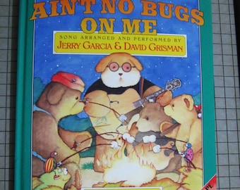 Gerry Garcia Book and Tape - There Aint No Bugs on Me - Hardcover