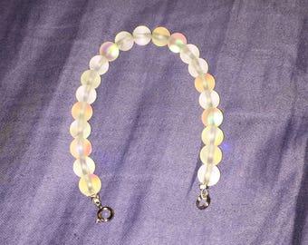 Glass swirl bracelet