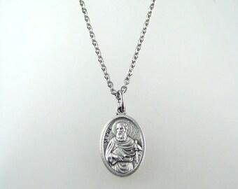 Saint Paul Medal Necklace