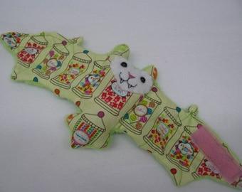 Candy Jars Bat Cup Sleeve, Coffee Cozy, Stuffed Animal