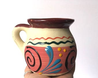 Vintage Ceramic Glazed Mug