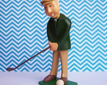 Wilton Golfer Cake Topper 1972