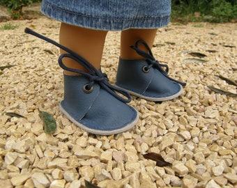 blue shoes for Wichtel dolls