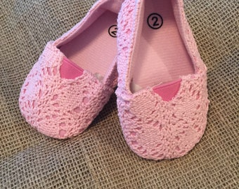 Adorable Pink Baby Shoes