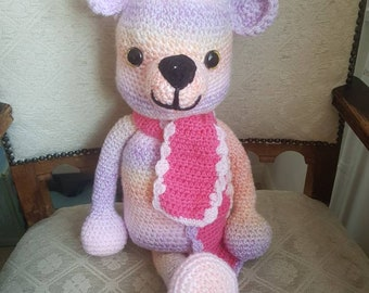 Large crochet bear