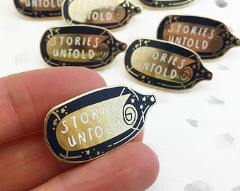 LIMITED EDITION Stories Untold Enamel Pin Badge