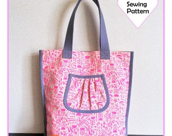 PDF Tokyo Carryall Tote - Zakka Sewing Pattern - Instant download