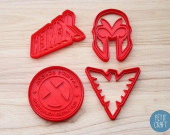 X-MEN: Classics - X-Men Inspired Cookie Cutters, Cake and Fondant Decorates