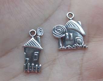 Sterling Silver House Charm(one)You choose which one