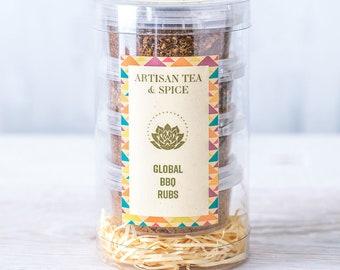 Four Global BBQ Rubs