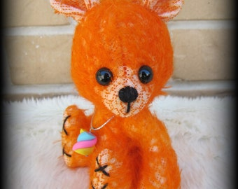 "Candy Bear - Instant download ePattern for EASY 6"" fully jointed artist bear"