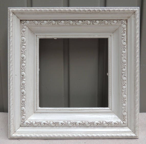 5x5 White Frames, Square White Picture Frame with Glass and Easel ...
