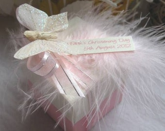 Christening Favours / Baptism Favours / Wedding Favours.   - Baby Shower Favors - Personalised - All Colours