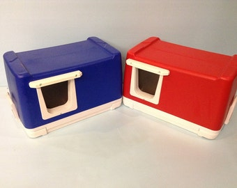 CAT POD (Ships Next Bus. Day) outdoor cat house,shelter,condo,tube