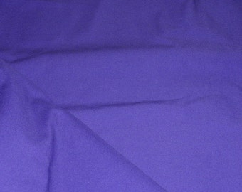 """Apparel Purple Cotton and Spanex Fabric 45"""" Wide Sold by the Yard"""