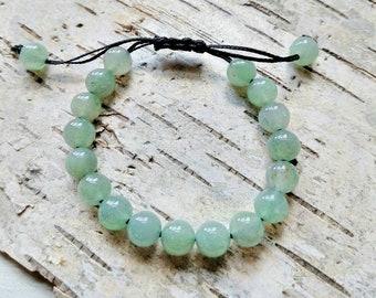 Green Adventurine gemstone bracelet